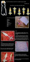 *Item for sale* tutorial: Larxene knives by ravens-soul