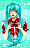 Miku_Heart by Ecthelian