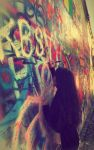 The John's Lennon Wall, Prague by Margheritte