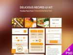 Delicious Recipes UI Kit by thislooksgreat