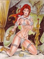 RED SONJA by RODEL MARTIN (07232014) by rodelsm21