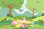 Rest with Animals by Fluttershy1982