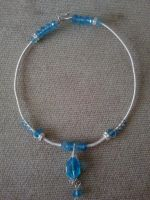 Full view of Glacier necklace by WyckedDreamsDesigns