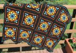 Stained Glass Window Afghan by DulachNightflame