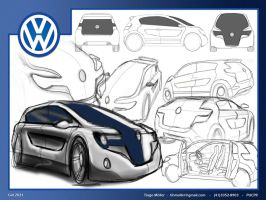 Volkswagen Gol 2021 Sketches by tihmoller