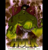THE HULK by Gutz and me by dcjosh
