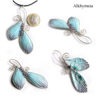 VegetAria in Light Blue by Alkhymeia