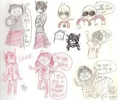 Drawing Comparison: Homestuck by fire-inferno