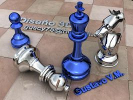 render chess3 by Guscy