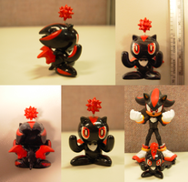 Sculpey: Shadow Chao by SaturnGrl