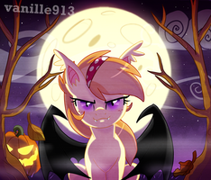 Bat in the night by vanille913