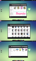 Theme for Iconpackager Surprise by Isfe