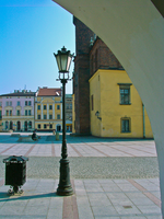 Street Lamp, Bim and My Town by marrciano