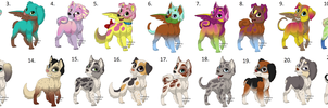 FREE Pup Adopts by FaolanWolfStar