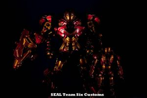 Iron Man Mech preview pic by TheProsFromDover