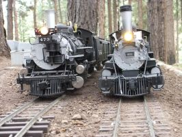 Two Locos by SouthwestChief