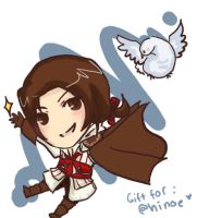 Ezio for hinoe by White-Seafoam