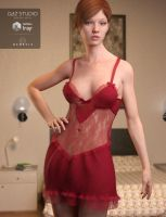 Lace Nights for Genesis 3 Female(s) by Toyen-Art