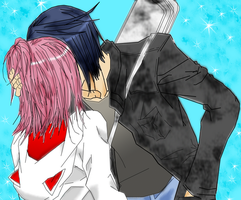 ikuto and amu moment by heart-of-a-demon