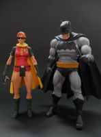 Carrie Kelley Robin custom action figure by Jedd-the-Jedi