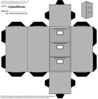 Cubee - Filing Cabinet by CyberDrone