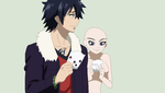 Fairy Tail-Gray and Oc Base by TFAfangirl14