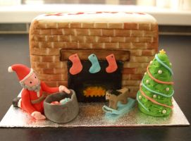 Christmas Cake by sparks1992