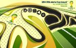 FIFA World Cup Brazil 2014 by SkipperArt
