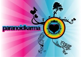 parandoidkarma wallpaper by paraNoidK