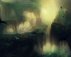 Landscape Study by India-Lee