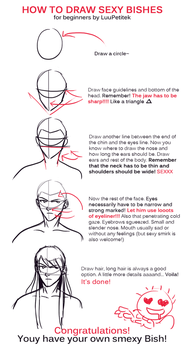 How To Draw Sexy Bishes (tutorial) by LuuPetitek