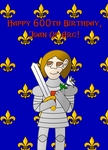 Happy B-Day, Joan Of Arc! by MouseAvenger