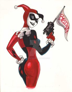 HARLEY QUINN BRUCE TIMM STYLE by POPSTATA