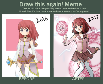 Draw This Again Meme 2017 by mgcoco