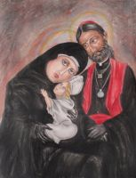 Holy Family by Oswulf