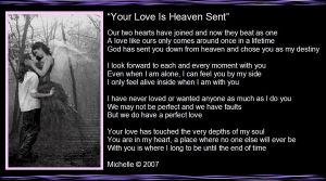 Your Love Is Heaven Sent by VisualPoetress