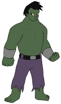 Marvel Revisited - Hulk by Gaiash
