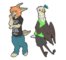 Im just a creep in a T shirt by Tuxiie