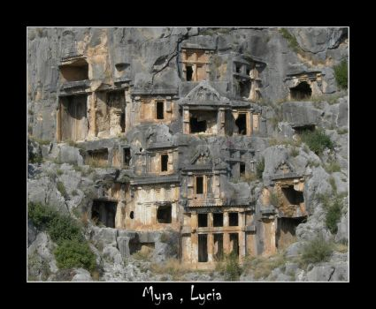 Myra of Lycia in Turkey by crotijak