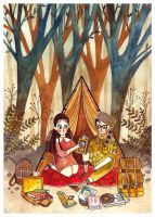Moonrise Kingdom by haniutek