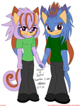 RP Anniversary: Grace and Remiel by ReverseTheEclipse
