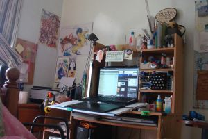 My workspace 092311 by ryuuen