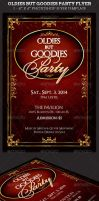 Oldies but Goodies Party Flyer Template by Godserv