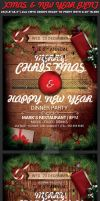 Christmas Event Flyer Template by Hotpindesigns