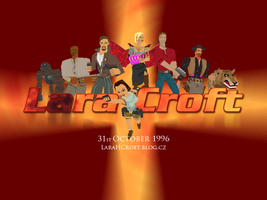 Tomb Raider 15th Anniversary Wallpaper by Charlie-of-LHCblog