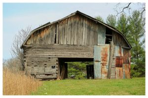 A Very Old Log Barn by TheMan268