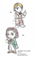 Doctor Who chibis by macpooky