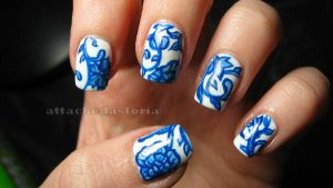 ming vase nails take 2 by xtheungodx