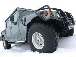 Gunmetal Hummer H1 by absolutzombie
