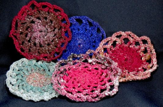 A Doily Coaster Collection by Mdnghtkith